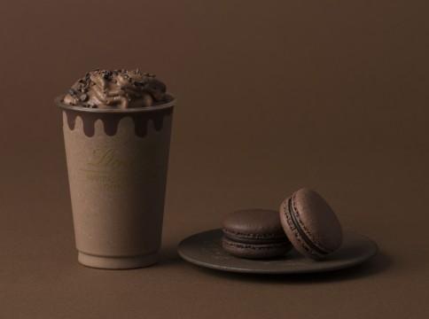エクセレンス 70%ダークチョコレートドリンクとデリースのセット