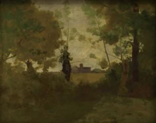 《メドックの秋》1897年頃 油彩/カンヴァス ボルドー美術館(オルセーより寄託) ©Musée des Beaux-Arts, ville de Bordeaux. Photo F. Deval