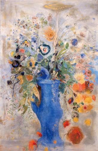 《グラン・ブーケ(大きな花束)》1901年 パステル/カンヴァス 三菱一号館美術館蔵