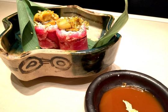 かつべ牛のう肉寿司