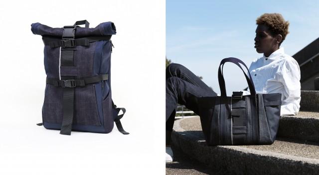 左)バックパック ¥30,240 右)トートバッグ ¥20,520