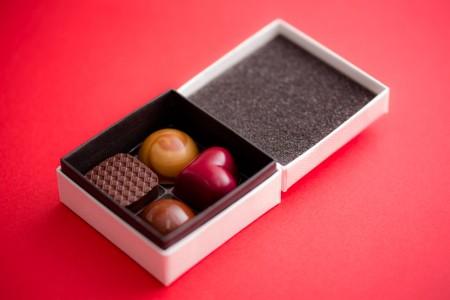 Bon Bon Chocolat Assortiment 4P(ボンボンショコラ 4個入り) ¥1,100