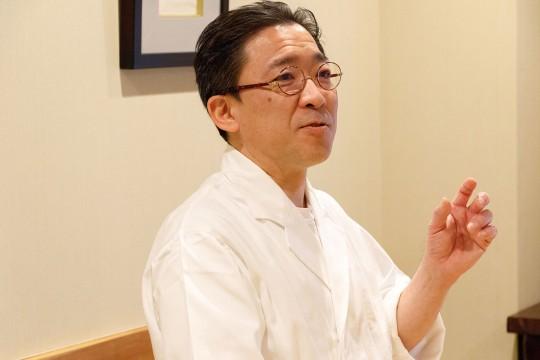 2代目オーナーシェフ 熊澤 彰さん