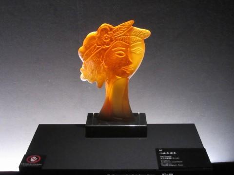 アール・ヌーヴォーの名品を多数生み出したドーム工房によるガラス彫刻