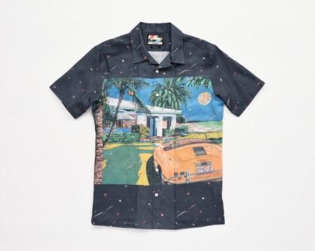 アロハシャツ〈パイカジ・和光限定〉税込¥41,040(麻100%、M〜LLLサイズ、数量限定品)
