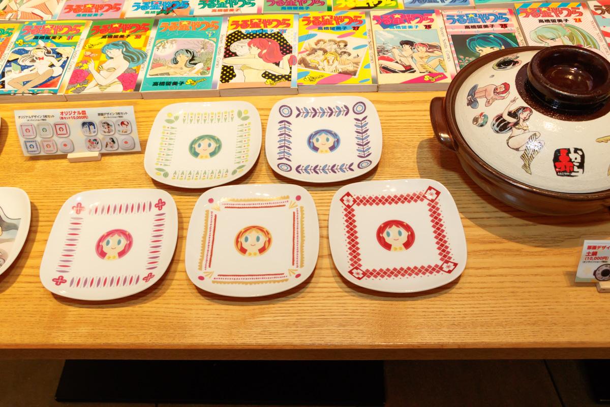 コラボオリジナルデザイン皿5枚セット 10,000円(税抜)