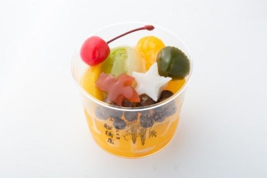 船橋屋(コレド室町1 1F) アクアリウムみつ豆 572円(税込)