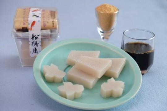 船橋屋(コレド室町1 1F) 金魚カップくず餅 450円(税込)