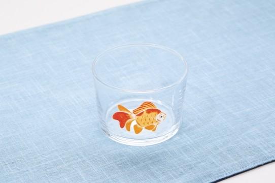 "CLASKA Gallery & Shop""DO""/DO TABELKA(コレド室町3 2F) 金魚のグラス 1,026円(税込)"