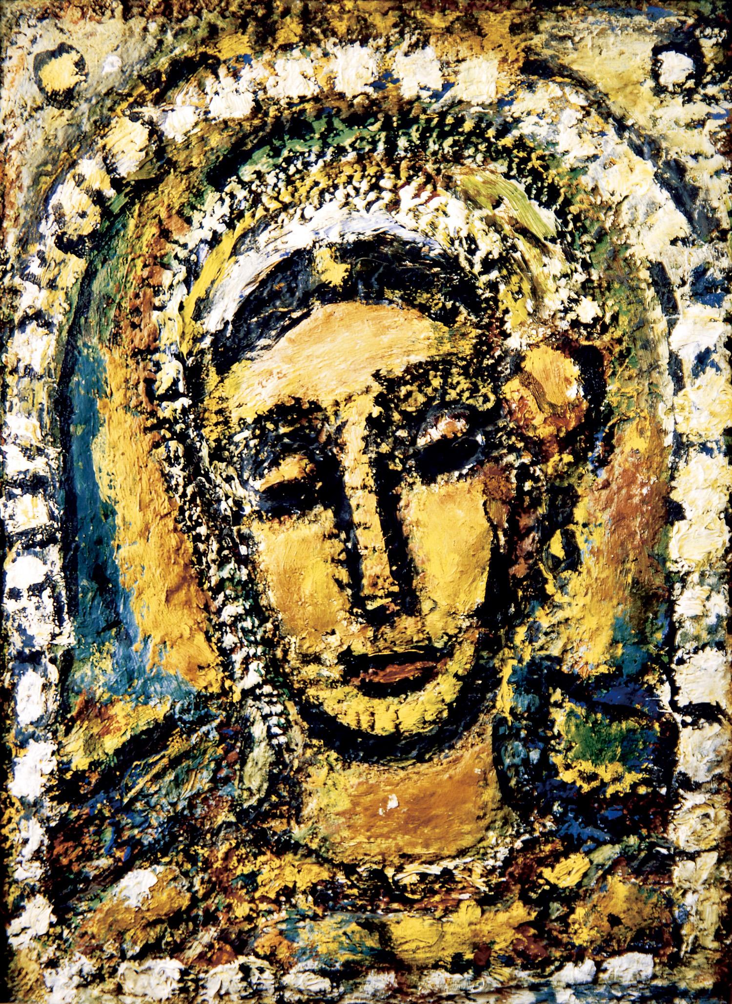 《サラ》1956年、油彩、ジョルジュ・ルオー財団蔵