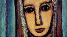 《ヴェロニカ》1945年頃、油彩、ポンピドゥー・センター パリ国立近代美術館蔵、Photo © Centre Pompidou, MNAM-CCI, Dist.RMN-Grand Palais /image Centre Pompidou,MNAM-CCI / distributed by AMF