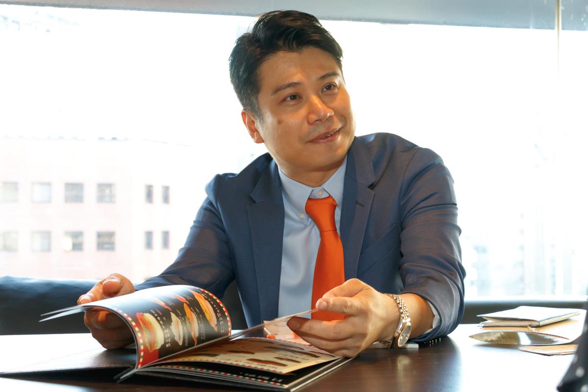金澤寿司アモーレ!を経営する株式会社シー・ティー・ブランド代表取締役の月井剛氏