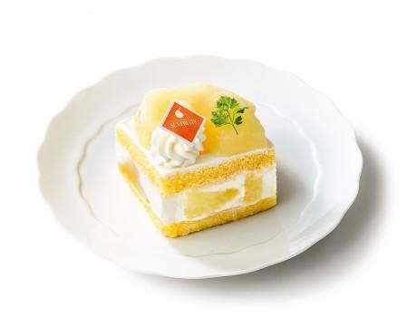 ル レクチエのショートケーキ