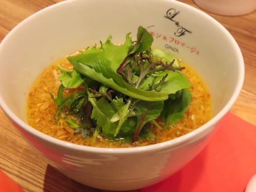レモンらぁ麺 ¥780(税別)