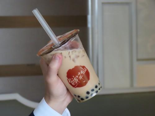 タピオカミルクティー ¥570