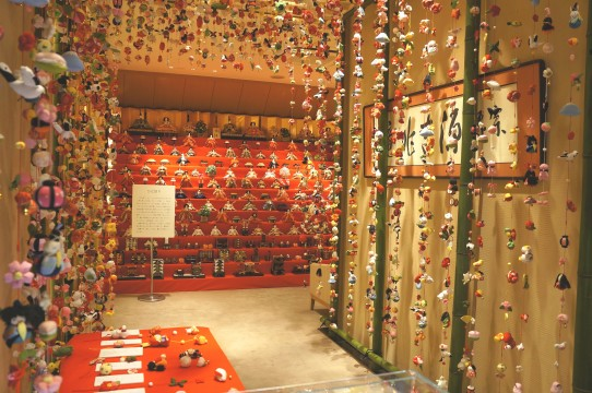 103 dolls are displayed at the 13th stage chicken display on the 2nd floor special venue