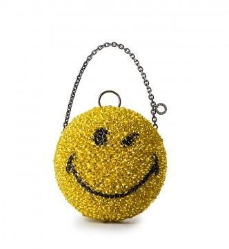 SMILEY(スマイリー) PB19SGJ6L6 W15.5 cm x H15.5cm x D15.5cm 65,000円(税抜き) エナメルブラック×マスタードイエロー