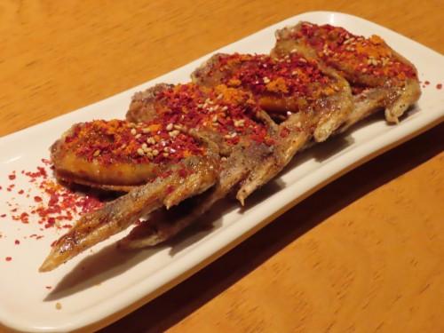 Four chicken fried chicken red 490 yen