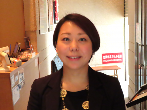 """Mr. Ai Okamoto public relations manager, Corporate Planning Department, Kolla Co., Ltd., which manages """"from red"""""""